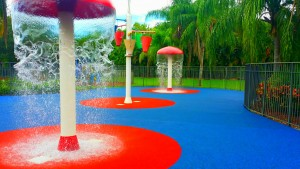 FallZone Splash Pads Playground Safety Surfaces