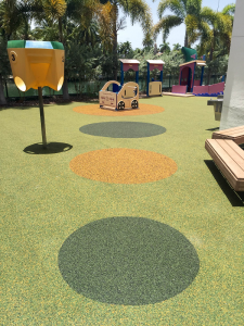 FallZone PouredinPlace Playground Safety Surface
