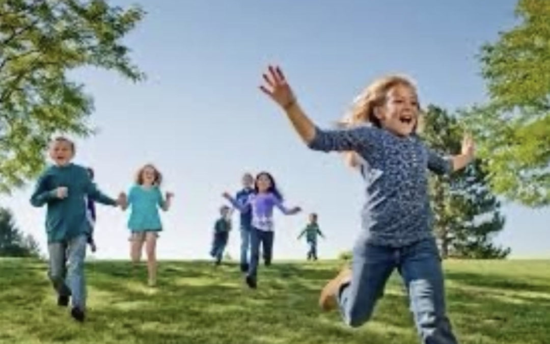Benefits of Children Playing Outside On Playgrounds