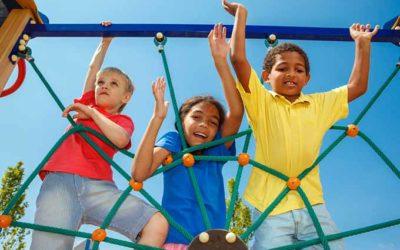 Climbing Equipment Fall-Zone & Fall-Height for FallZone Playground Surfacing